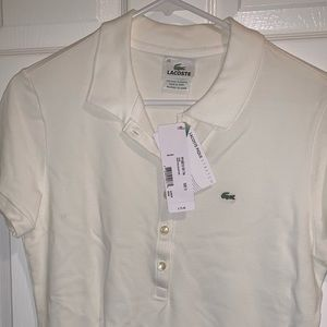 Woman's Lacoste Polo style shirt